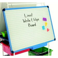 Magnetic Double Sided Dry Erase Free-Standing Whiteboard, 2' x 3'