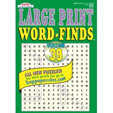 Large Print Word-Find Puzzle Book (Set of 3)