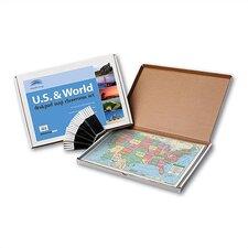 Primary Deskpad Class Set - U.S. / World