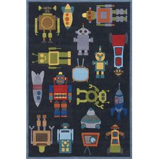 Whimsy Steel Area Rug