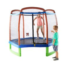 Pure Fun 7' Trampoline and Enclosure Set