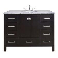 """Malibu 48"""" Single Bathroom Vanity Set"""