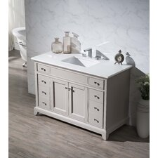 "Arianny 49"" Single Sink Bathroom Vanity Set"