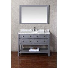 "Marla 48"" Single Modern Bathroom Vanity Set"