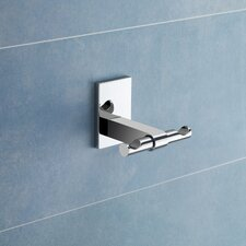 Maine Wall Mounted Double Robe Hook