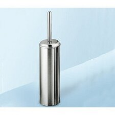 Ascot Wall Mounted Toilet Brush Holder in Chrome