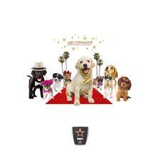Wild Walls Puppy Star 3D Wall Décor