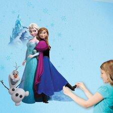 Wild Walls Magical Winter Journey Frozen 3D Wall Décor