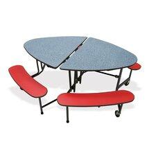 """72"""" L x 48"""" W Kidney Classroom Table"""