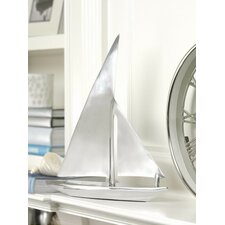 Aluminum Decorative Sailboat