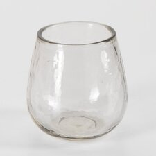 Hammered Stemless Wine Glasses (Set of 4)