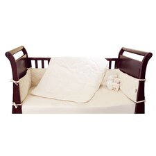 Natural Start 3 Piece Crib Bedding Set