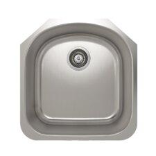 "ProInox 20"" x 20"" Undermount Single Bowl Kitchen Sink"