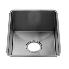 """J7 13"""" x 17.5"""" Undermount Single Bowl Kitchen Sink"""