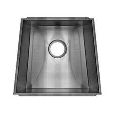 "Trapezoid 18.33"" x 17.5"" Undermount Single Bowl Kitchen Sink"