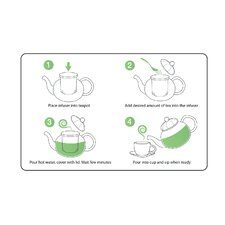 0.63-qt. Rose Series Fairy Teapot