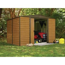 Dallas Euro 10 Ft. W x 8 Ft. D Steel Storage Shed