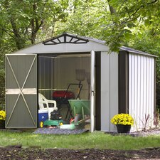 Designer Series 10 Ft. W x 8 Ft. D Steel Stool Shed
