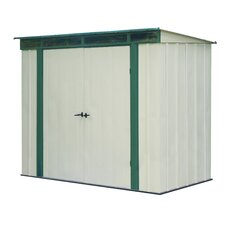 EuroLite 8 Ft. W x 4 Ft. D Steel Lean-To Shed