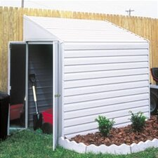 Yardsaver 4 Ft. W x 7 Ft. D Steel Storage Shed
