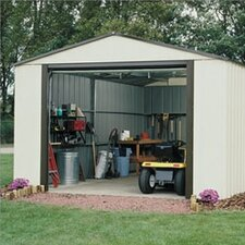 Murryhill 12 Ft. W x 10 Ft. D Vinyl Coated Steel Storage Shed
