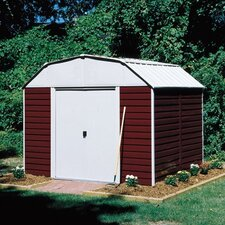 Barn 10 Ft. W x 12 Ft. D Steel Storage Shed