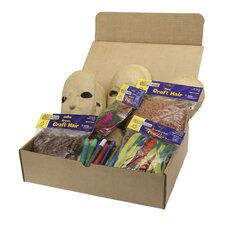Papier Mache Masks Activity Box