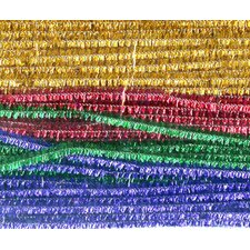 Chenille Stems Assorted 12 Sparkle (Set of 2)