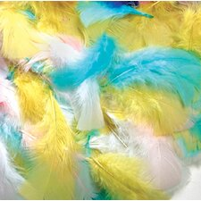 Feathers Spring Colors (Set of 4)