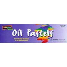 Oil Pastels Regular 25 Piece Set (Set of 2)