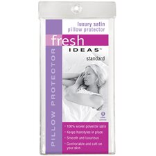 Fresh Ideas Satin Pillow Protector