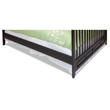 London Twin Size Bed Rail