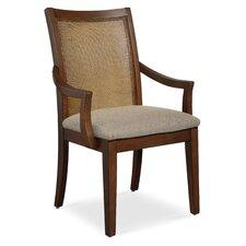 Claire de Lune Cane Arm Chair (Set of 2)