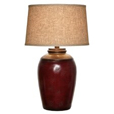 "Hand Applied 29"" H Table Lamp with Empire Shade"