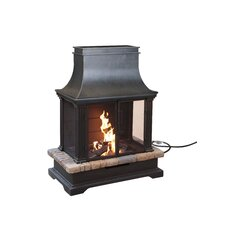 Sevilla Steel Outdoor Fireplace
