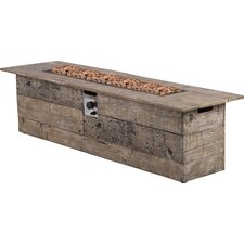 Galleon Wood Propane Gas Fire Table