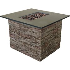 Monterey Gas Outdoor Table Top Fireplace