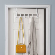 Closet  Over-the-Door 6 Hook Rack
