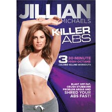 Jillian Michaels Killer Abs DVD