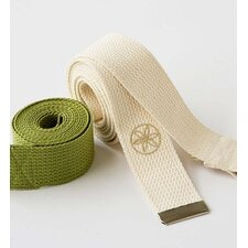 "72"" Organic Cotton Yoga Strap"