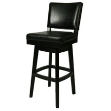 "Richfield 26.5"" Swivel Bar Stool with Cushion"