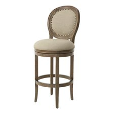 "Naples Bay 26"" Swivel Bar Stool with Cushion"