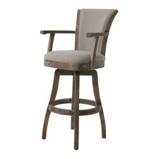 "Glenwood 26"" Swivel Bar Stool with Cushion"