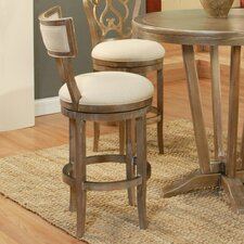 "Clarksville 30"" Swivel Bar Stool with Cushion"
