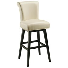 "Hannah 30"" Swivel Bar Stool with Cushion"