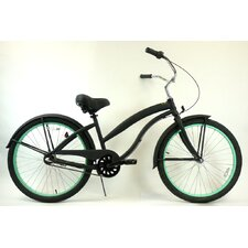 Women's 3 Speed Aluminum Beach Cruiser