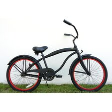"Boy's 24"" Single Speed Beach Cruiser"