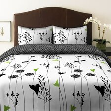 Asian Lily Comforter Set