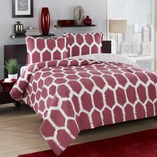 Honeycomb Duvet Cover Set