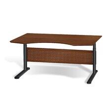 "Motorized Standing Desk in Wood 63"" Top"